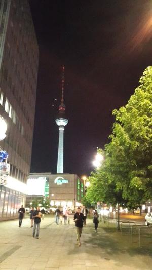 Vista de algum local de Berlim