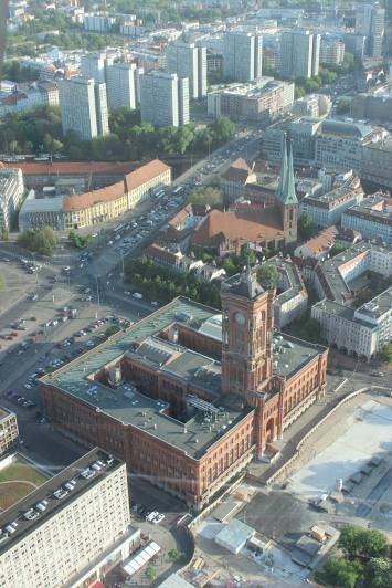 Prefeitura vista do alto da Torre