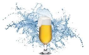 agua cerveja