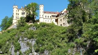 O outro castelo visto de baixo
