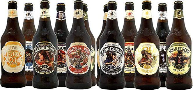 Wychwood Brewery garrafas