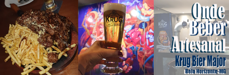 Banner - krug bier