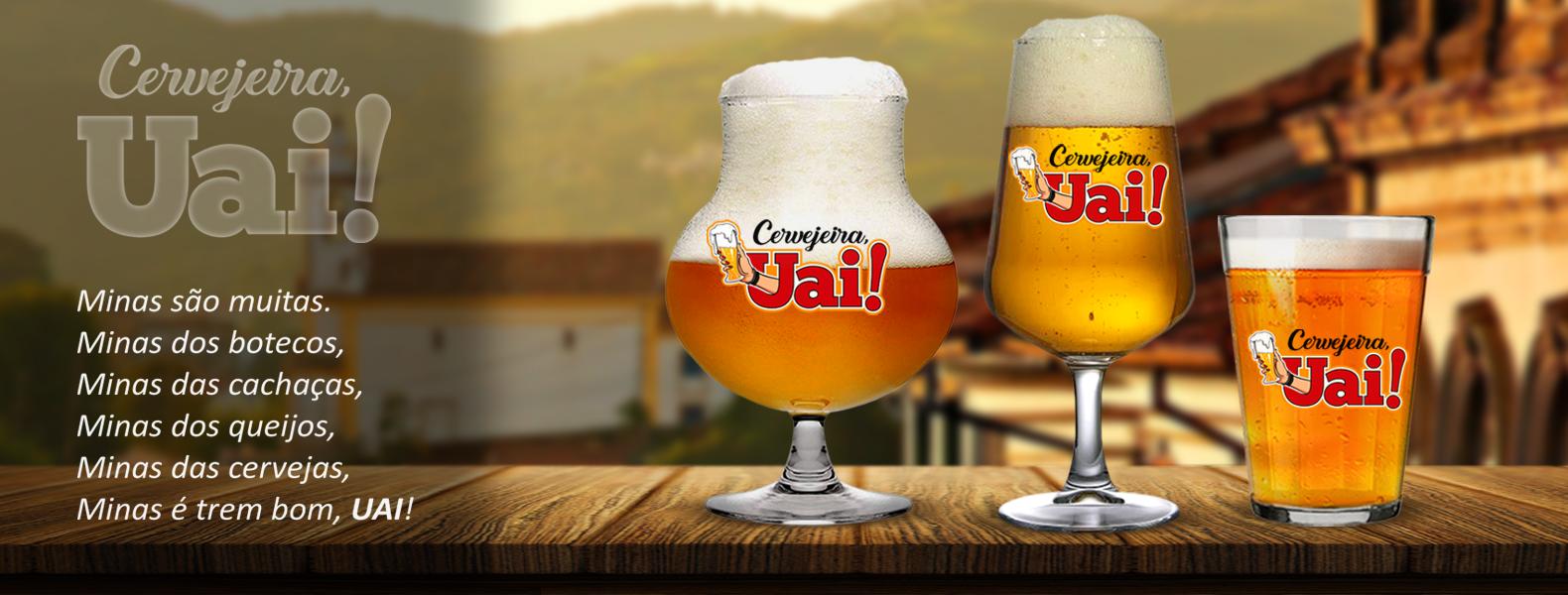 banner cervejeira uai copos